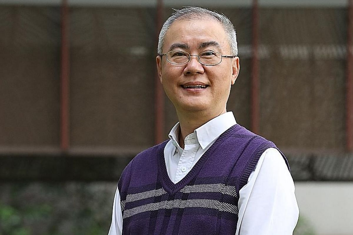 Dr Robin Chan, diagnosed only in his late 20s, still struggles with dyslexia today.