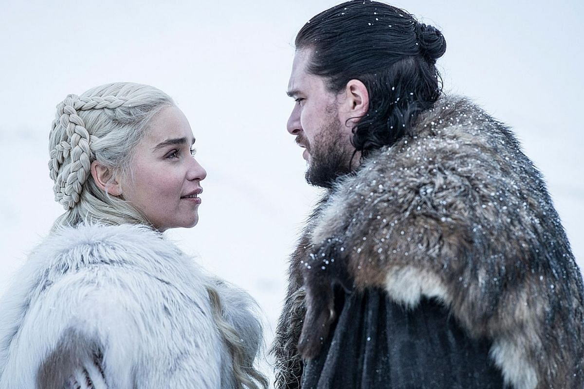 The show, based on George R. R. Martin's fantasy series of novels, A Song Of Ice And Fire, has made stars of its cast, including Emilia Clarke and Kit Harington (both above).