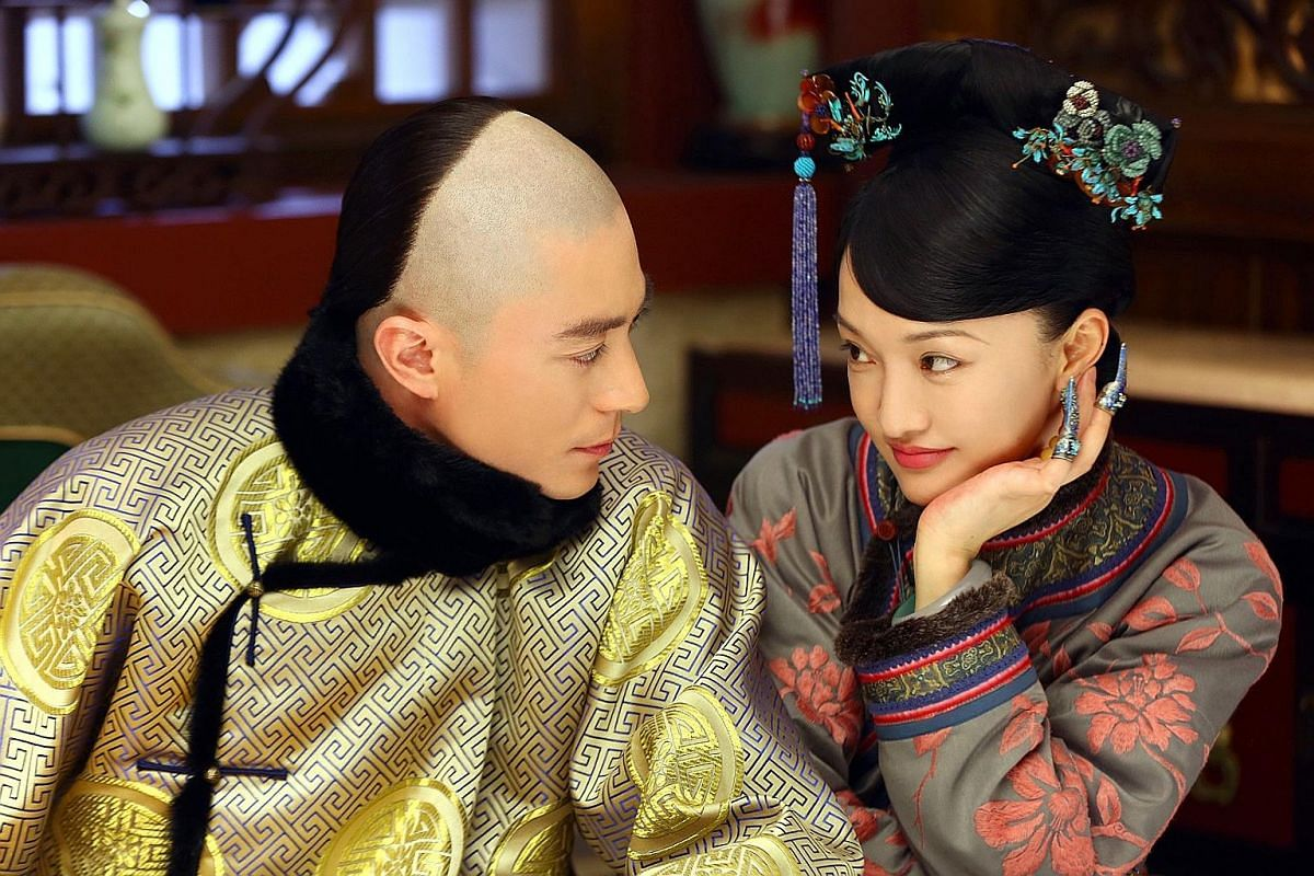 Story Of Yanxi Palace (above) is the most searched for show on Google last year; and Ruyi's Royal Love In The Palace (right) charts the love story between Emperor Qianlong and his queen. Empresses In The Palace (left) featured scheming and backstabbi