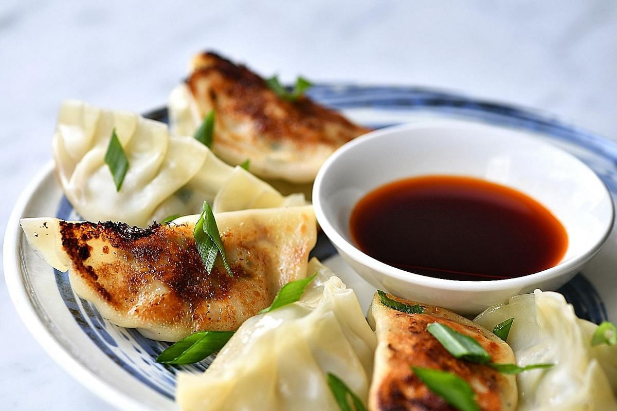 Gyoza freeze well and are good to have on hand for emergencies. Make them with minced beef, pork or chicken, and add chives for a bold flavour.