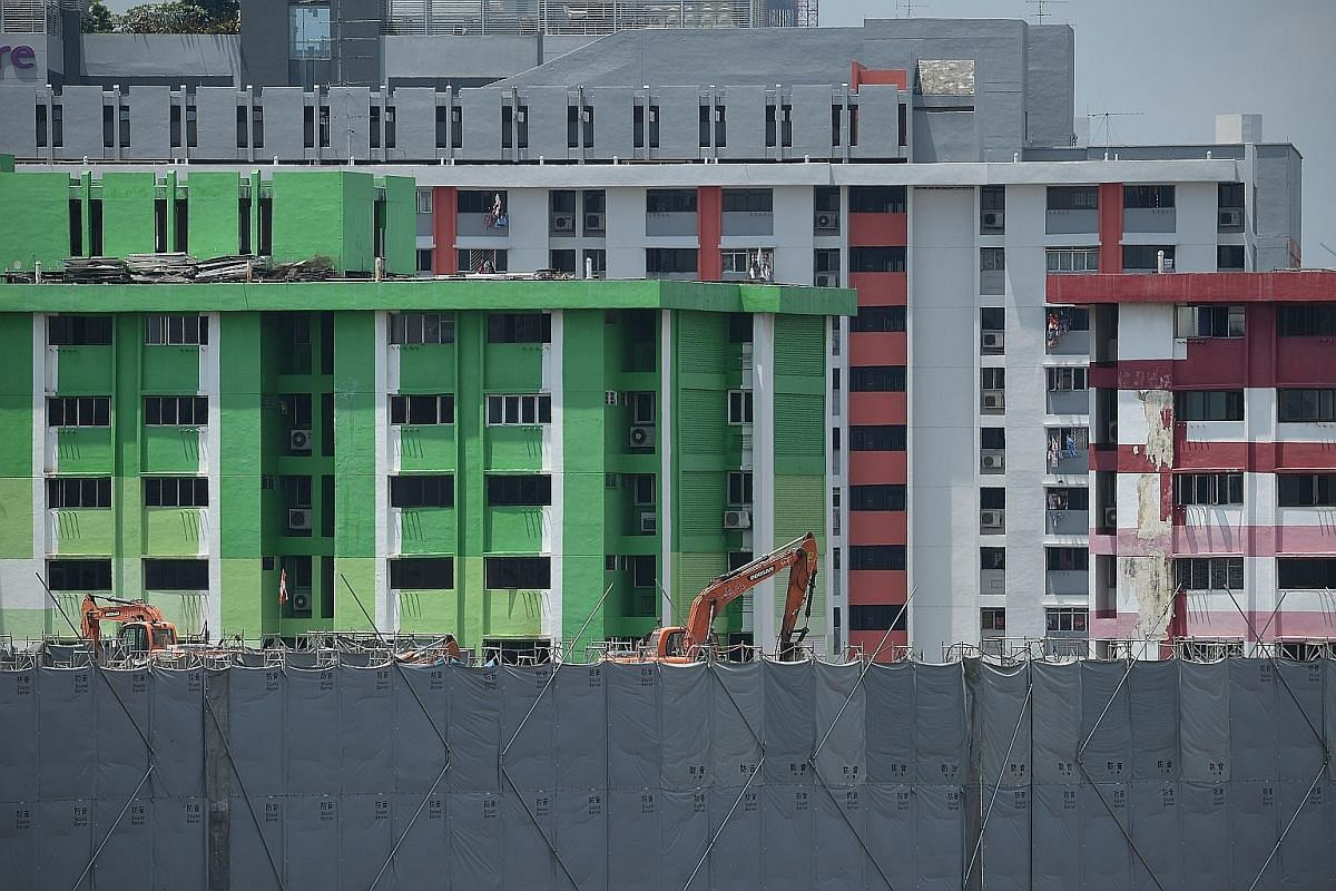 Finally, after demolition works stretching over a period of nine months from June 26 last year, all that remains is an empty plot of land on which Rochor Centre once stood. Built in a podium-and-tower style, with the four colourful blocks sharing a p