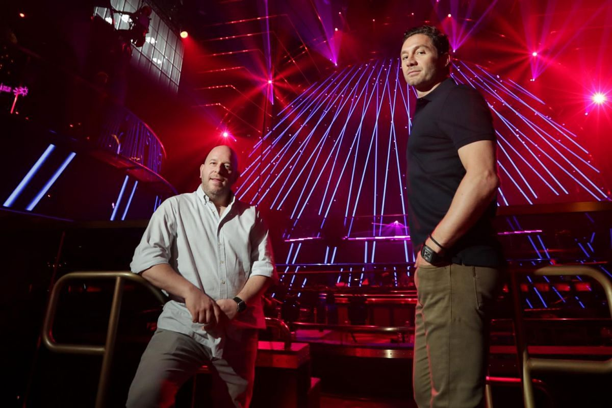 Tao Group co-founders Noah Tepperberg (left) and Jason Strauss, who are behind Marquee Singapore, want the venue to be a place where all clubbers, even those spending $30, can have plenty of fun.