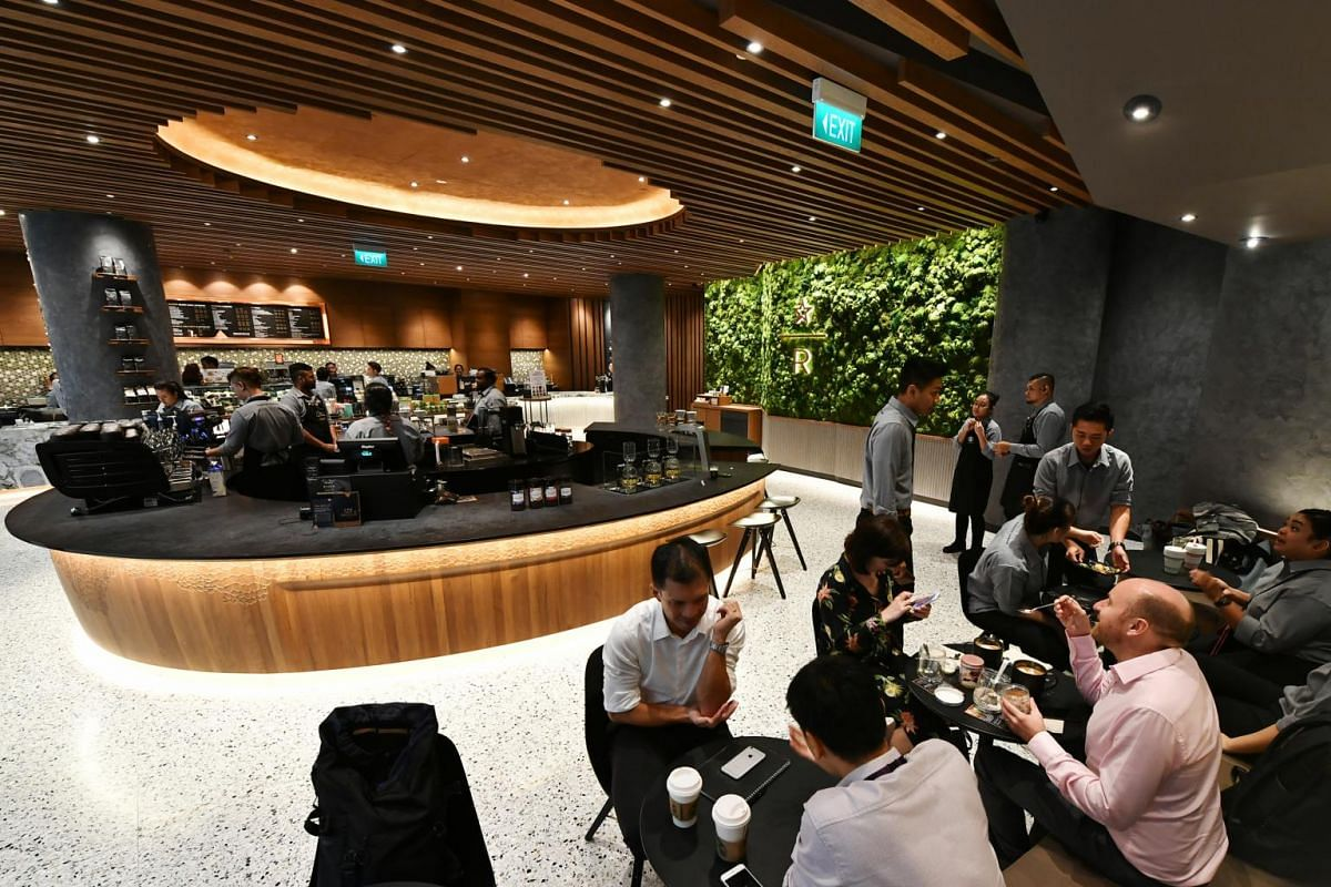Coffee chain Starbucks is opening a two-storey outlet at Jewel Changi Airport.