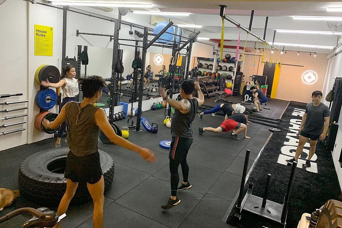 Gyms turn up the hiit lifestyle news top stories the straits