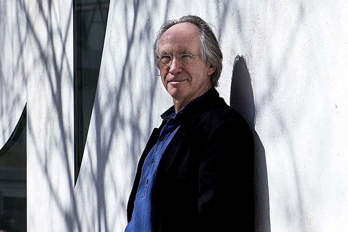 Ian McEwan has been nominated for the Man Booker Prize six times, winning in 1998 for Amsterdam.