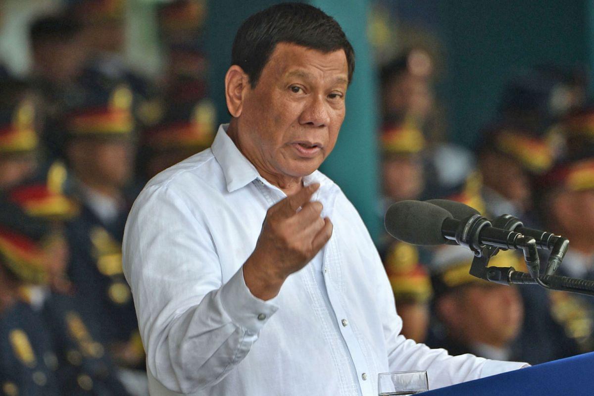 "Philippine President Rodrigo Duterte said that the nation's drug problem had ""worsened""."