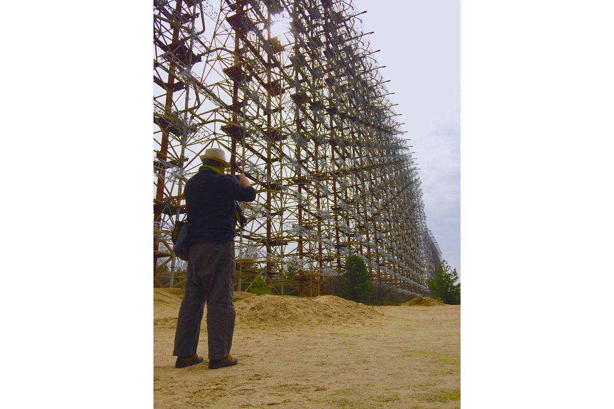 The Russian Woodpecker, which sent sharp, tapping signals that disrupted global broadcasts and communications during the Cold War, is another dark tourism attraction.