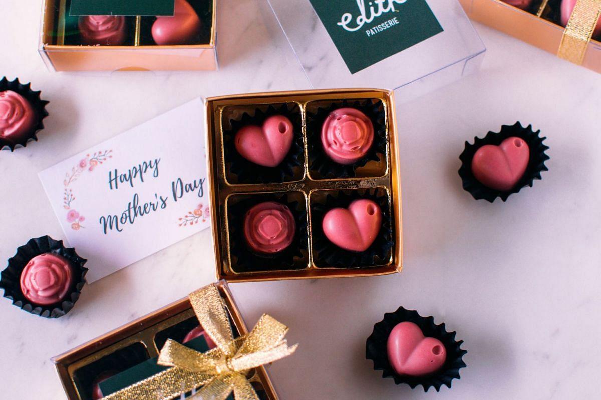 Ruby chocolate box set.