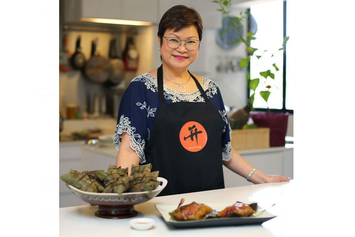 Housewife Janice O'Connor was spurred to cook better after her husband, Courts Asia's group chief executive officer Terry O'Connor teased her about her dishes cooked in the microwave oven.