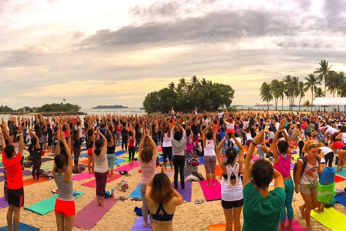 Wellness festival Soulscape (above, the event on Tanjong beach in 2016) is making a comeback after a two-year hiatus.
