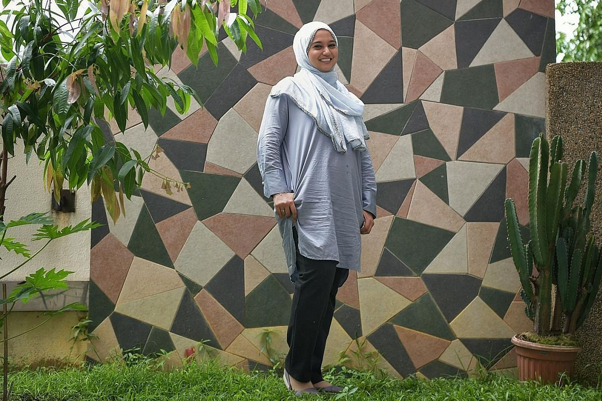 Ms Sumaiyah Mohamed says mental illness has changed her character by making her more understanding and empathetic.