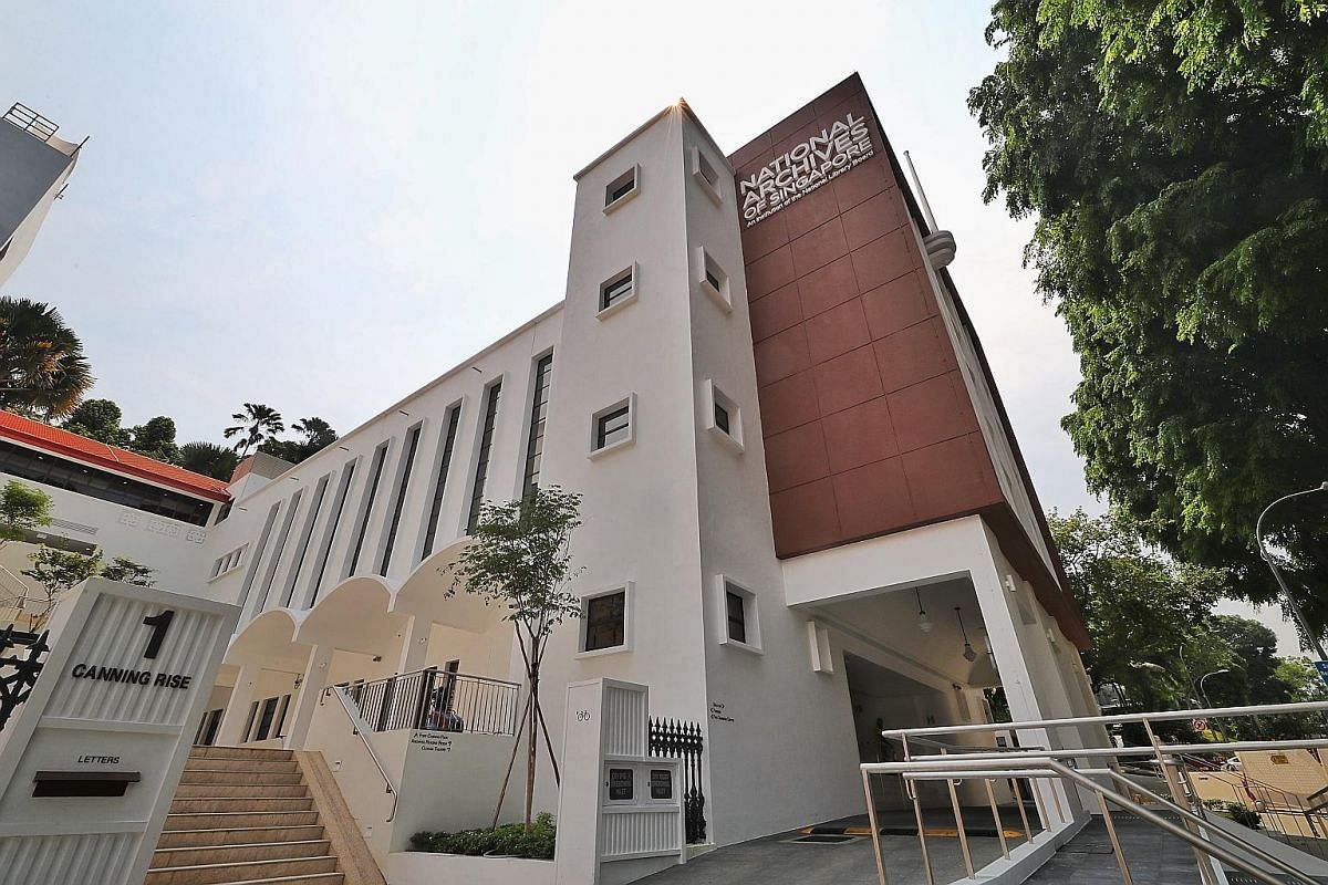 Oldham Theatre is located in the National Archives of Singapore.