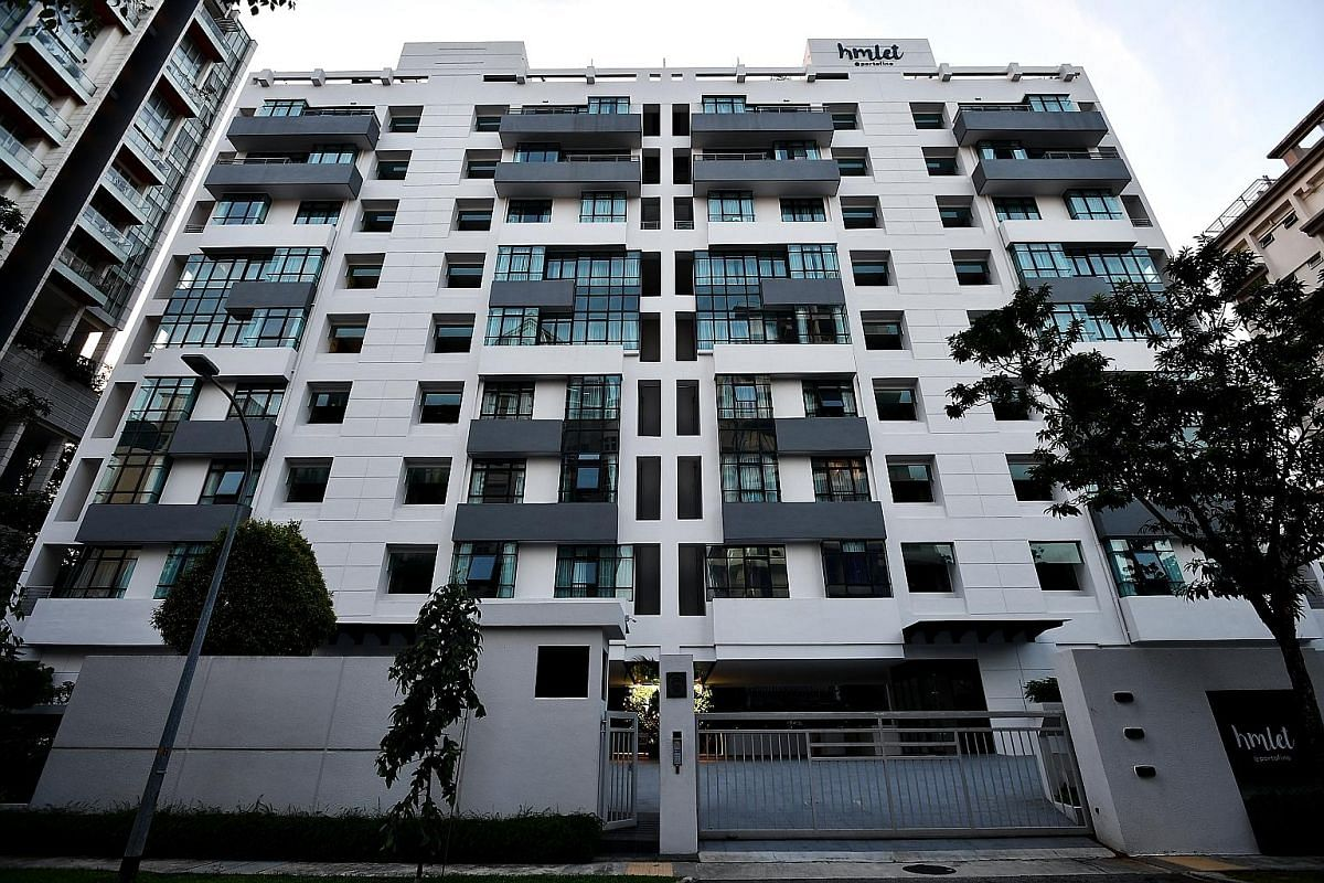 A three-bedroom apartment available for rent from co-living company Login Apartment, which has 16 units in Queenstown, Novena and East Coast. Co-living company Hmlet, started in 2016, has 800 rooms in more than 20 locations in Singapore, including th