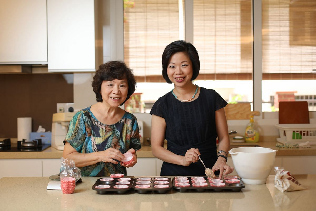 Ms Sim Ann says her mother, Madam Choo Lian Liang, is the focal point of the family.
