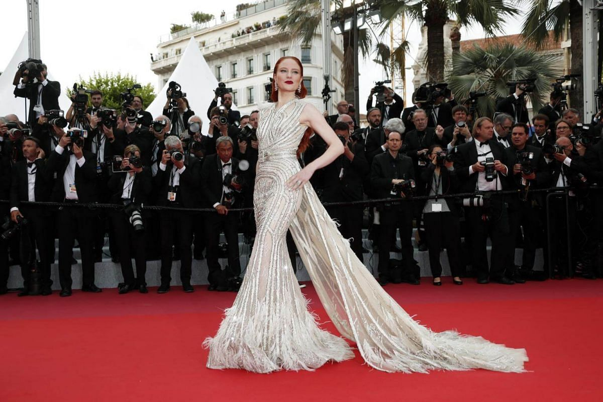 Fashion model and actress Barbara Meier at the 72nd annual Cannes Film Festival.