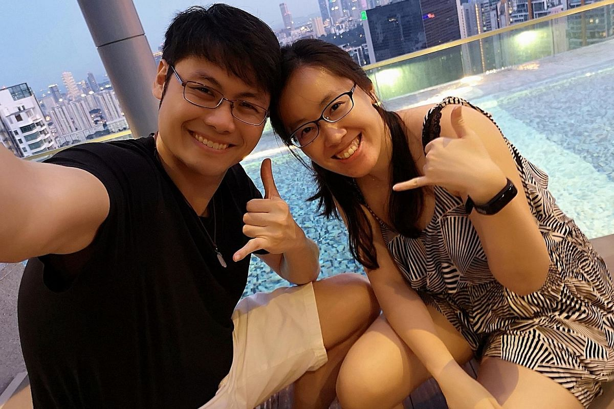 Ms Foo Shi Min and Mr Ivan Loh attended an intimacy workshop together, and found that it enhanced their communication both in and out of the bedroom.