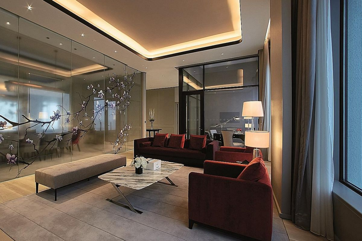 The Mayfair Suite at Crockfords Hotel in Genting Highlands.