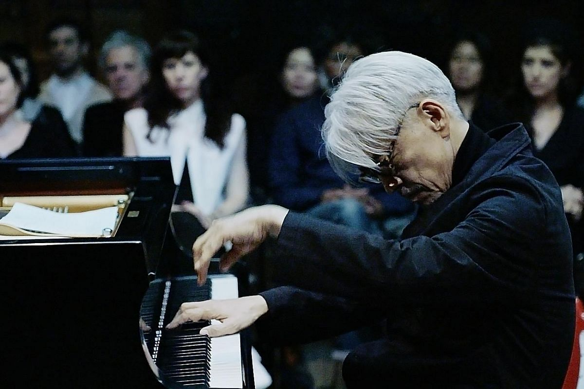 Japanese multimedia artist Shiro Takatani and renowned composer Ryuichi Sakamoto (above) team up for performance installation ST/LL and concert Fragments as part of the Singapore International Festival of Arts.