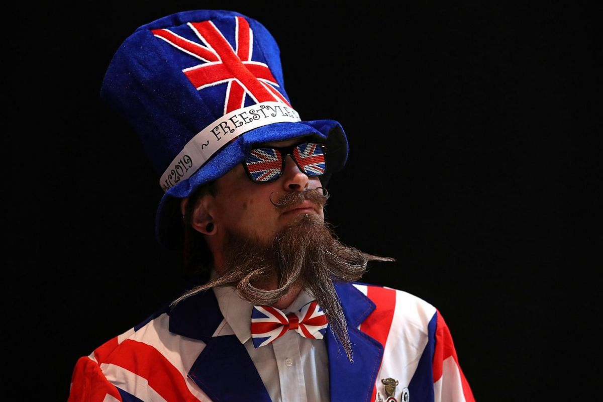 There are reportedly beard clubs all over the world, including Britain.