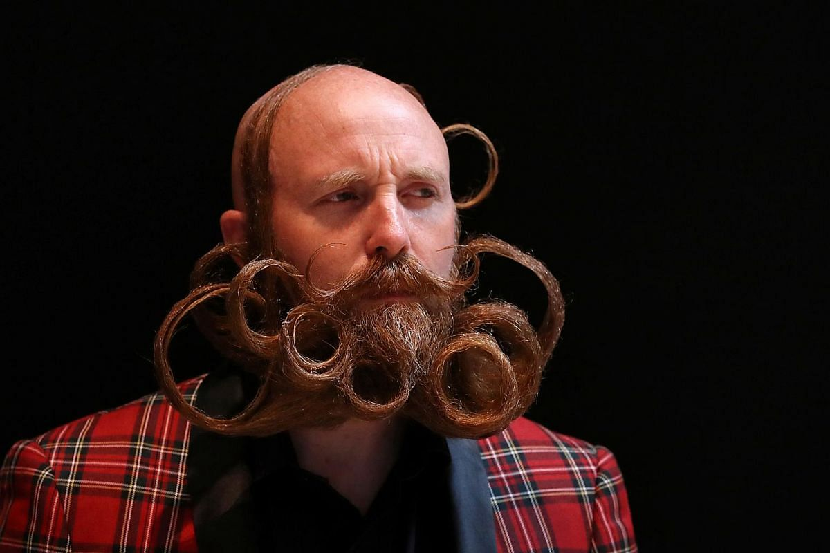 The 17 categories include Dali Moustache, Fu Manchu and Freestyle Goatee, each of which is subject to specific requirements.