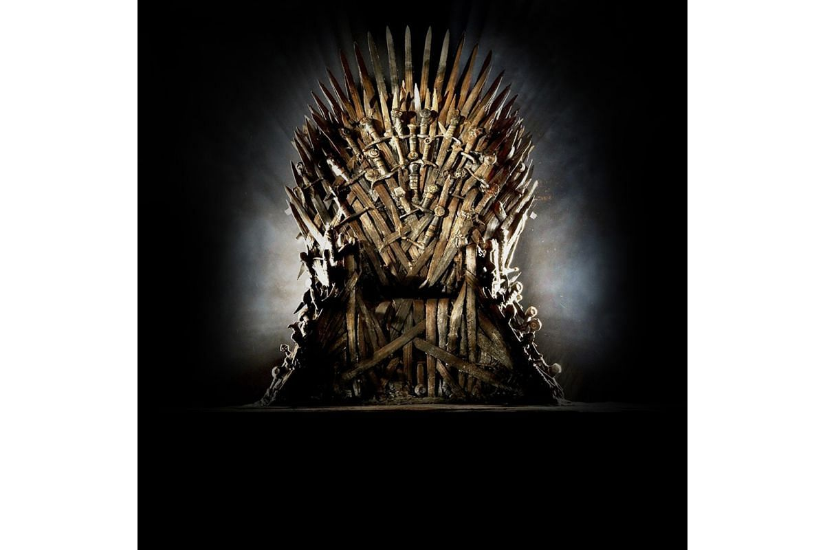 The immense popularity of HBO series Game Of Thrones saw the rise of Thrones-related merchandise and events, including an exhibition in Singapore that featured a replica (above) of the Iron Throne.
