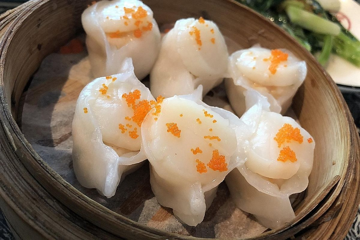 The dim sum (above) served at Chinese restaurant San Fu Lou is surprisingly good for a city without a sizeable Cantonese population.