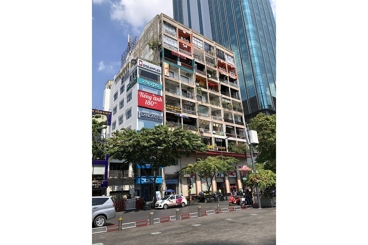 Cafe Apartment (above), an old eight-storey residential apartment that is occupied by cafes, restaurants and shops run mainly by young Vietnamese, is one of the trendiest places for tourists in Ho Chi Minh City.