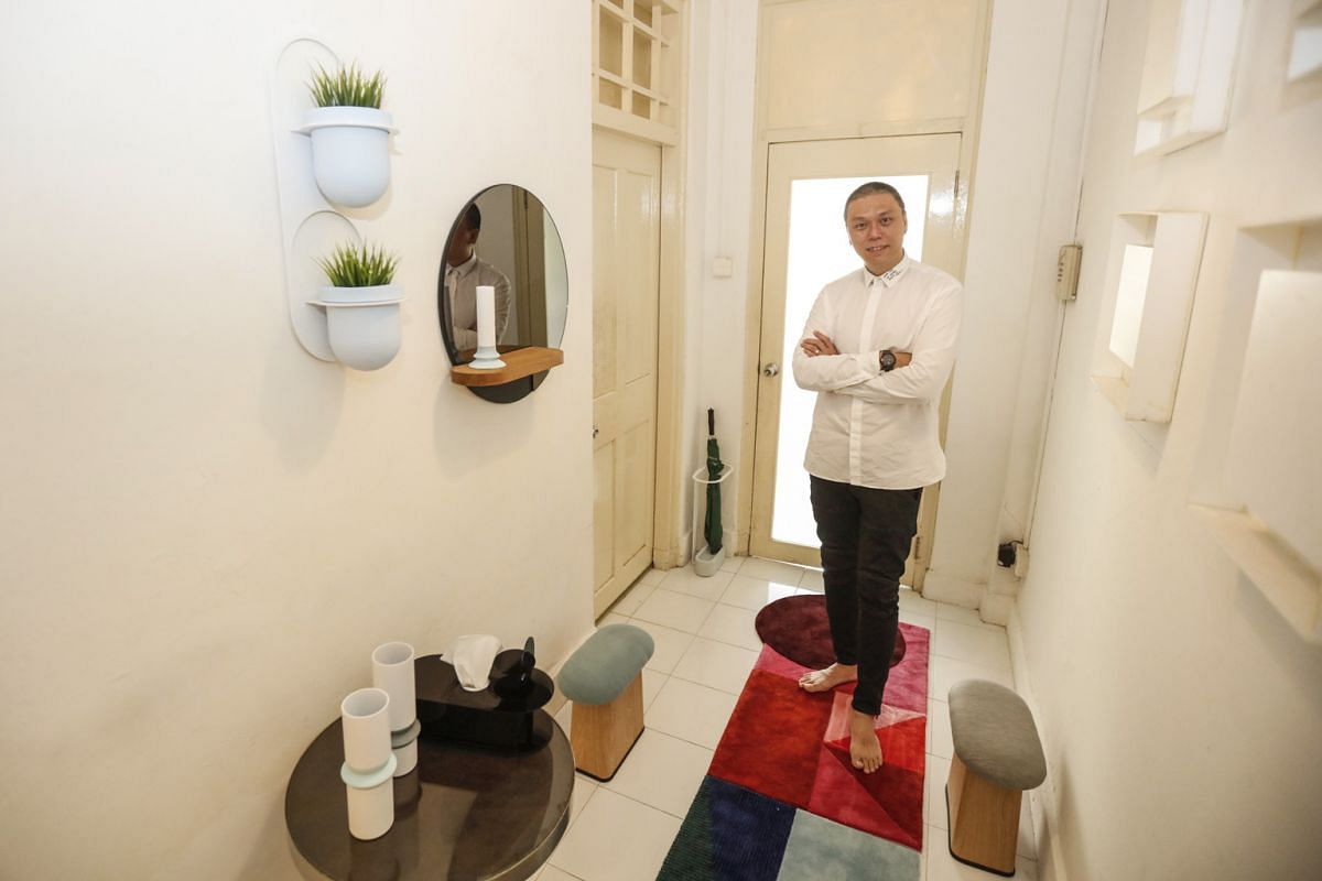 Design studio 11H's Kenny Hong is launching a collection of accessories and furniture typically found in the home's entrance at this year's GSS: Experience Singapore.