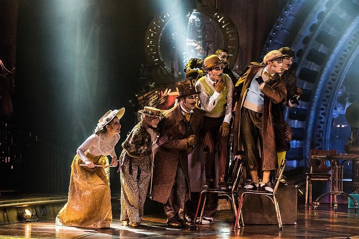 Even though technology can be incorporated into the acts, Cirque du Soleil still returns to human performance - that is the essence of circus and acrobatics, says Kurios artistic director Rachel Lancaster.