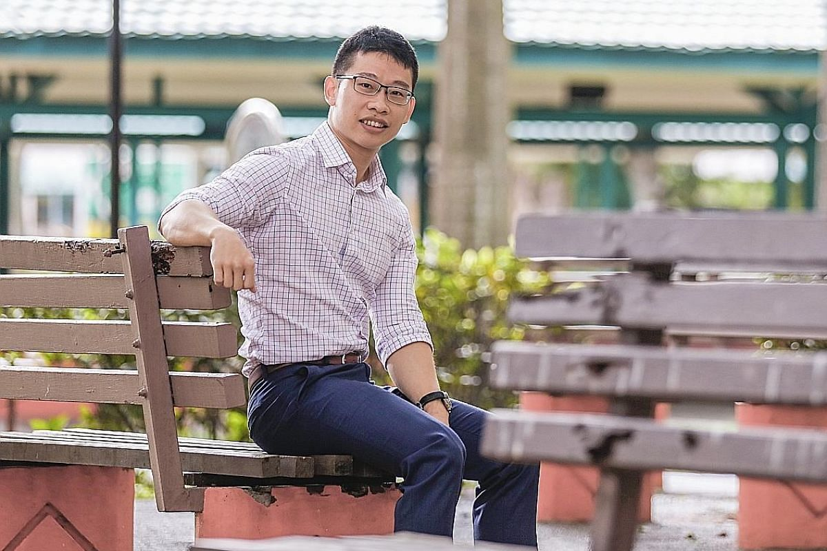 Mr Samuel Mo is one of four male social workers at Care Corner Toa Payoh Family Service Centre.