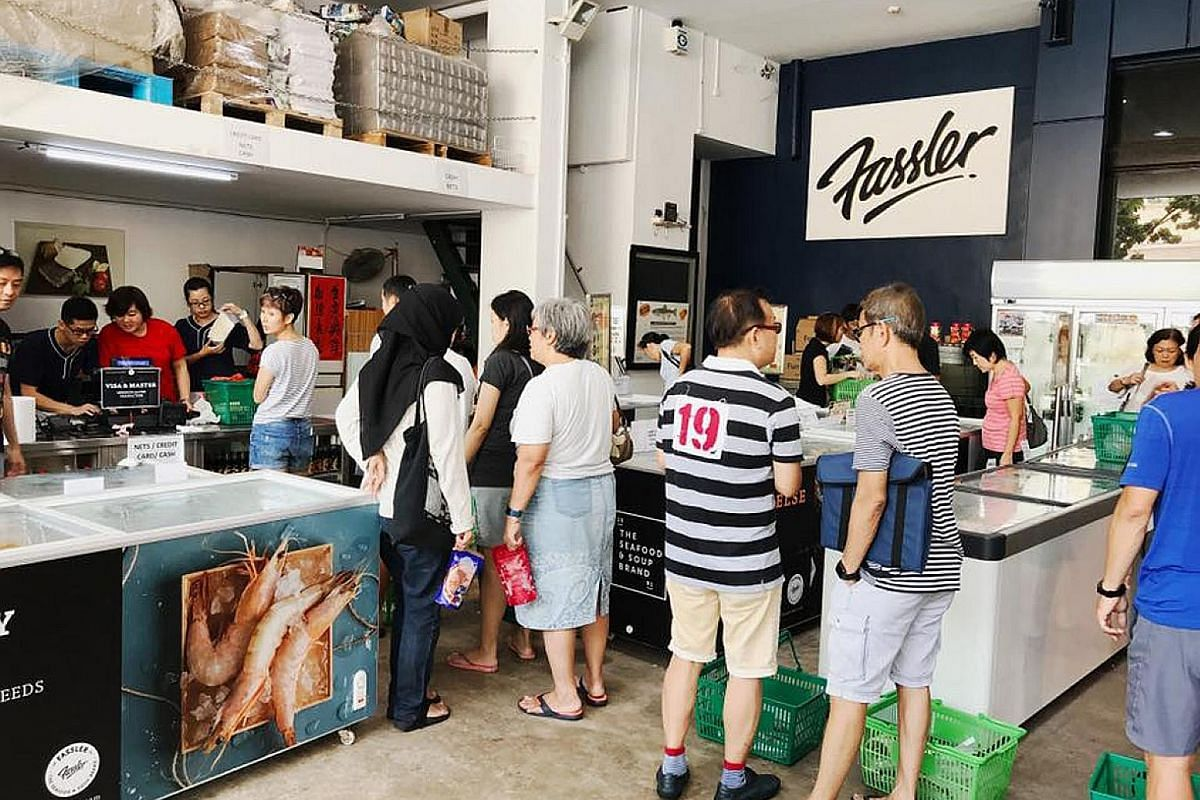Fassler Gourmet specialises in premium seafood and is among a string of food factory outlets located in Woodlands Terrace.