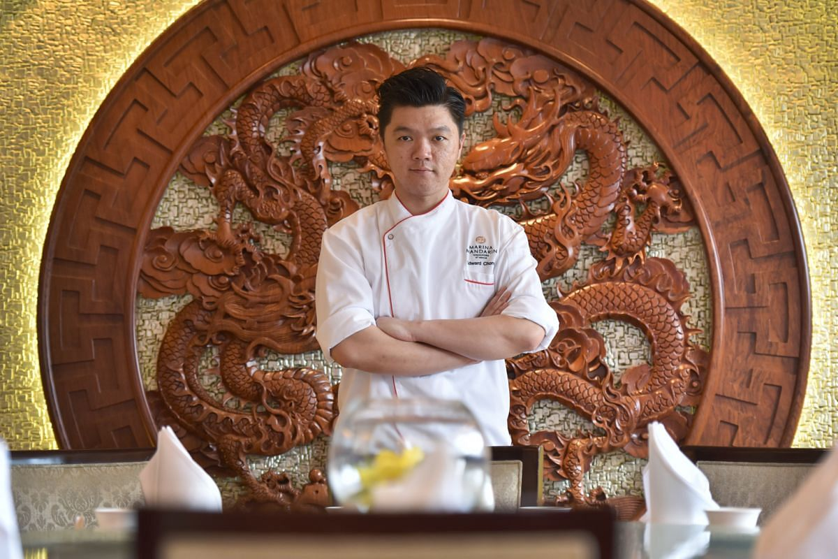 Chef Edward Chong joined Marina Mandarin hotel in 2017 as the executive Chinese chef of Peach Blossoms.