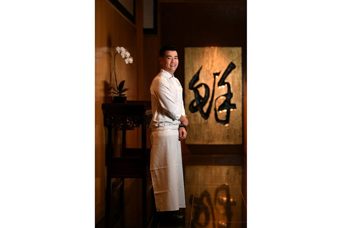Chef Brian Wong joined Wan Hao Chinese Restaurant 31/2 years ago.