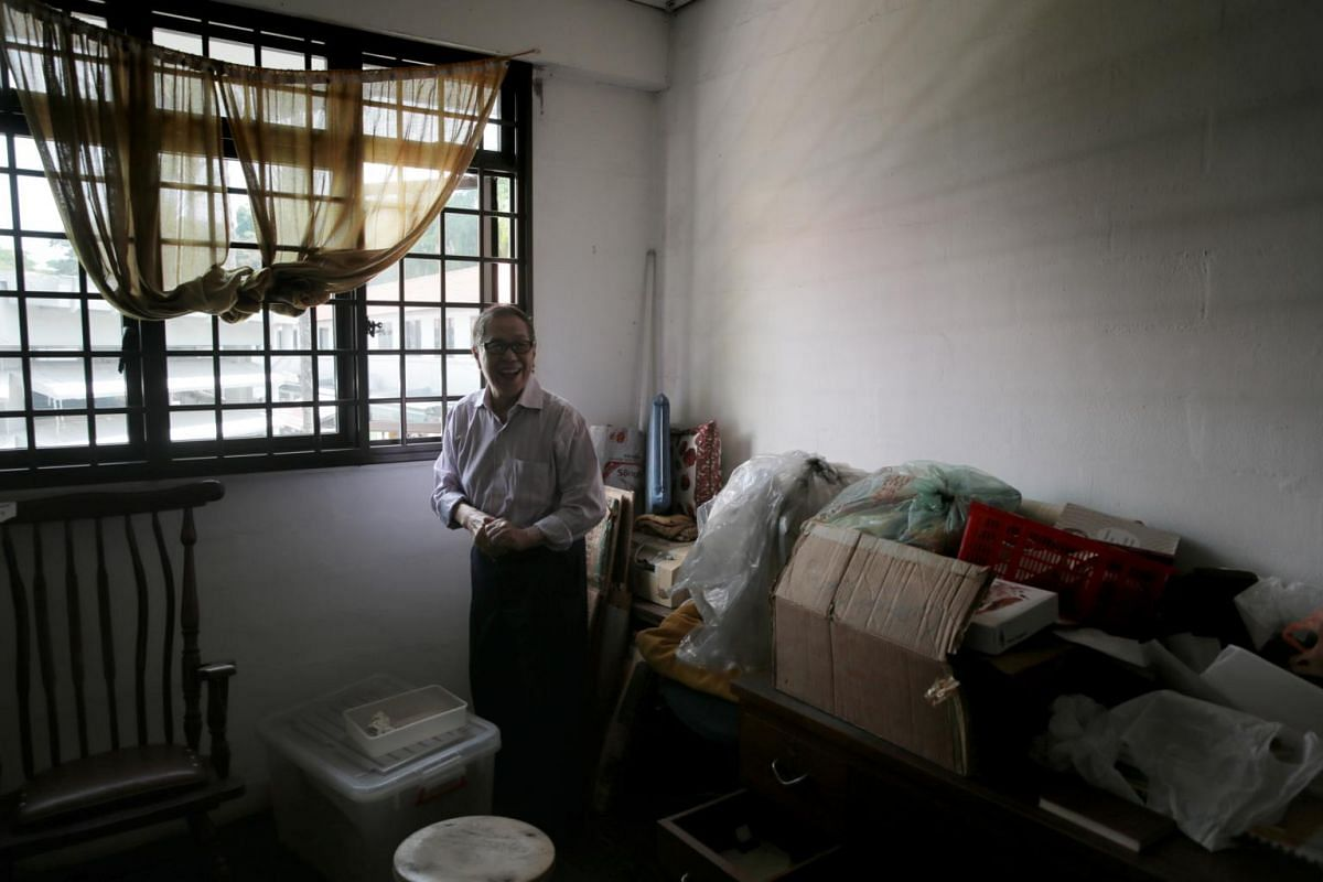 Dr Chan Khye Meng, 86, on the second floor of Meng's Clinic on June 21, 2019. In the coming days, Dr Chan will be packing up his possessions and moving them out of Meng's Clinic in preparation for its closure on June 26.