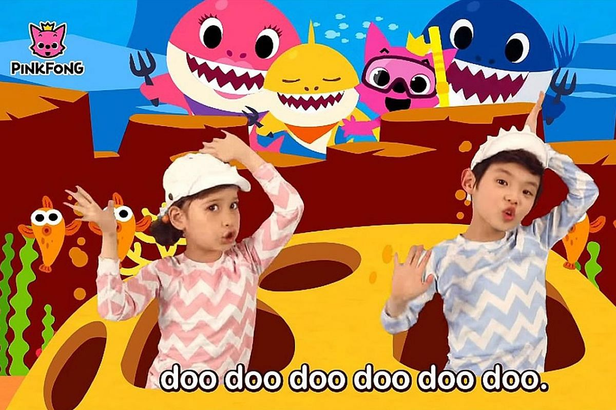 South Korean edutainment company SmartStudy, which is behind the infectious kids' song Pinkfong Baby Shark (above), was co-founded by Mr Ryan Lee.