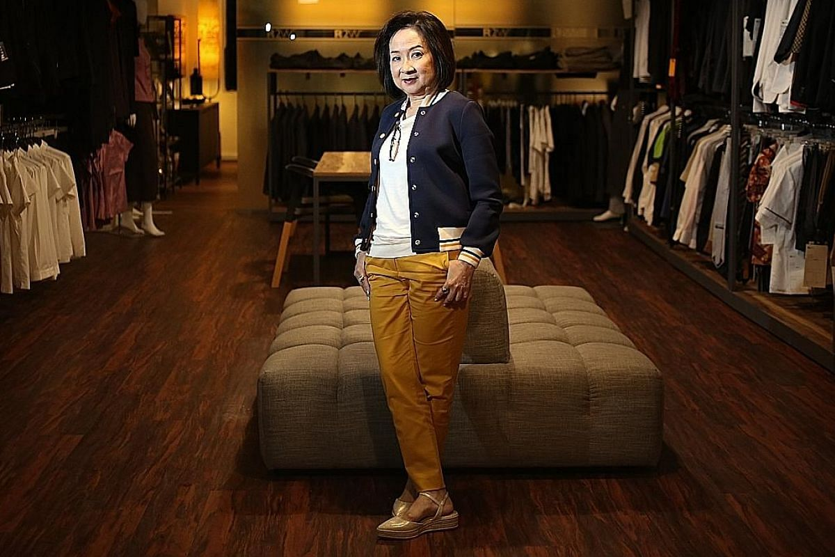 A household name in the local fashion industry, Esther Tay had wanted to enrol in ITE's graphic design course, but was not eligible. She ended up in the dressmaking course instead.