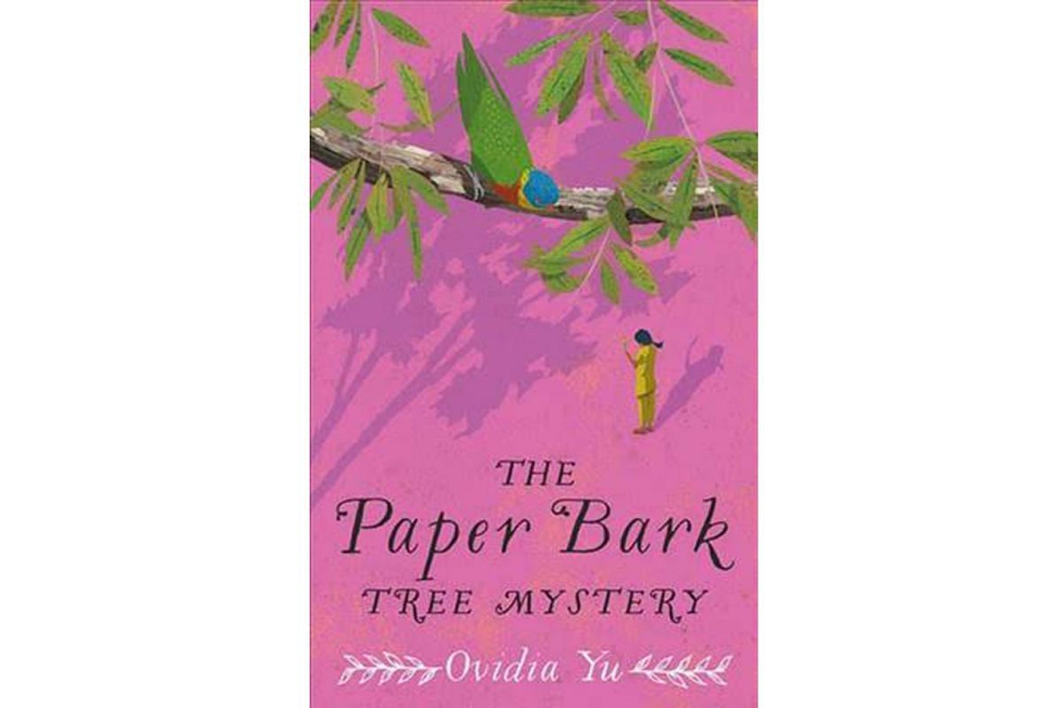 The Paper Bark Tree Mystery by Ovidia Yu follows the adventures of a young Peranakan sleuth.