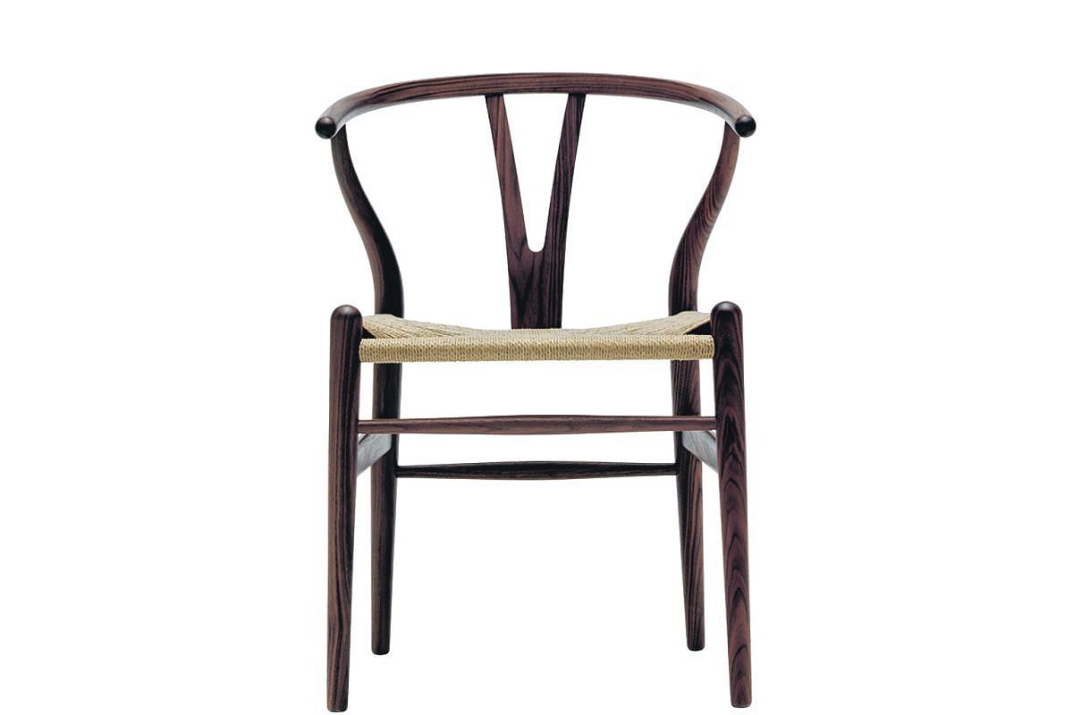 Wishbone Chair by Carl Hansen & Son.