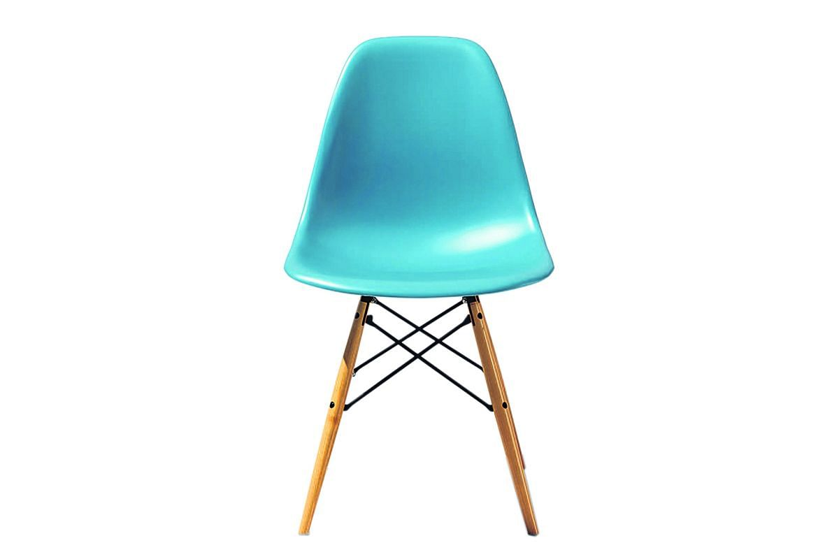 Eames Dsw Chair By Herman Miller.