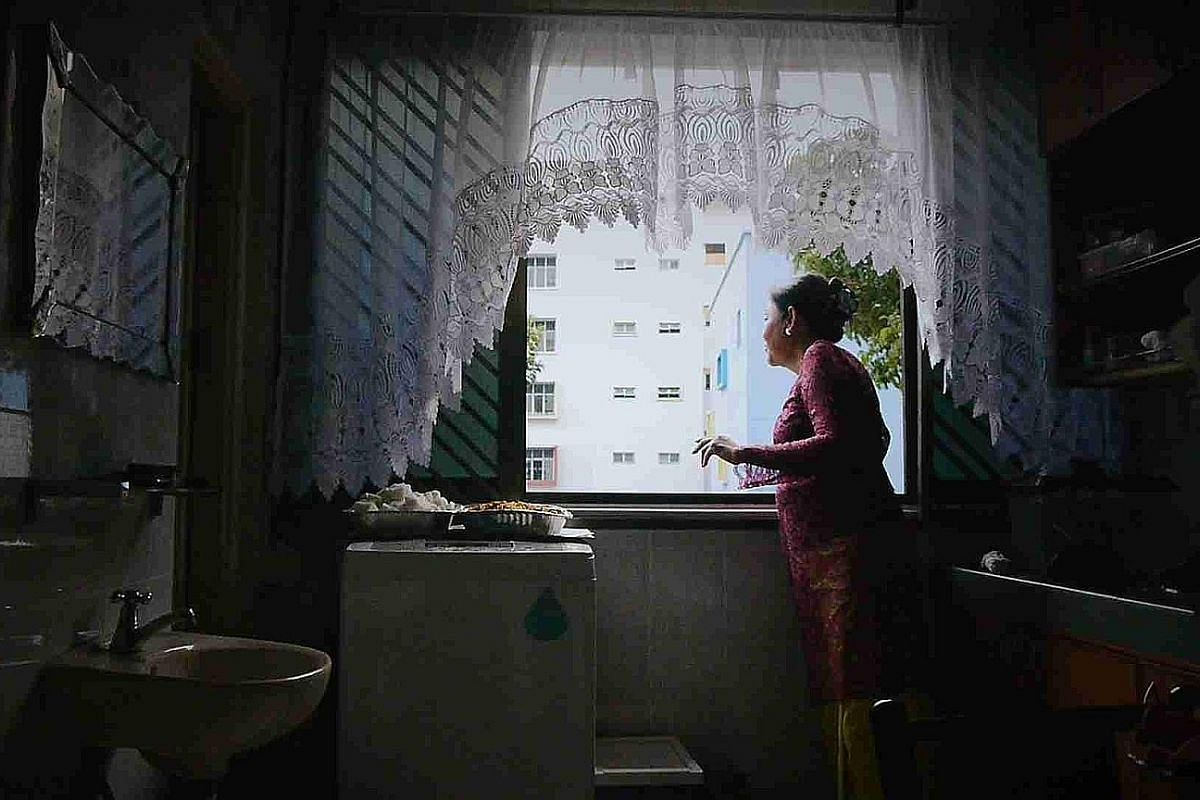 Ms Amy Tashiana is one of three women, each at a different stage of life and living in an HDB flat, featured in the documentary 03-Flats (2015) by film-maker Lei Yuan Bin.