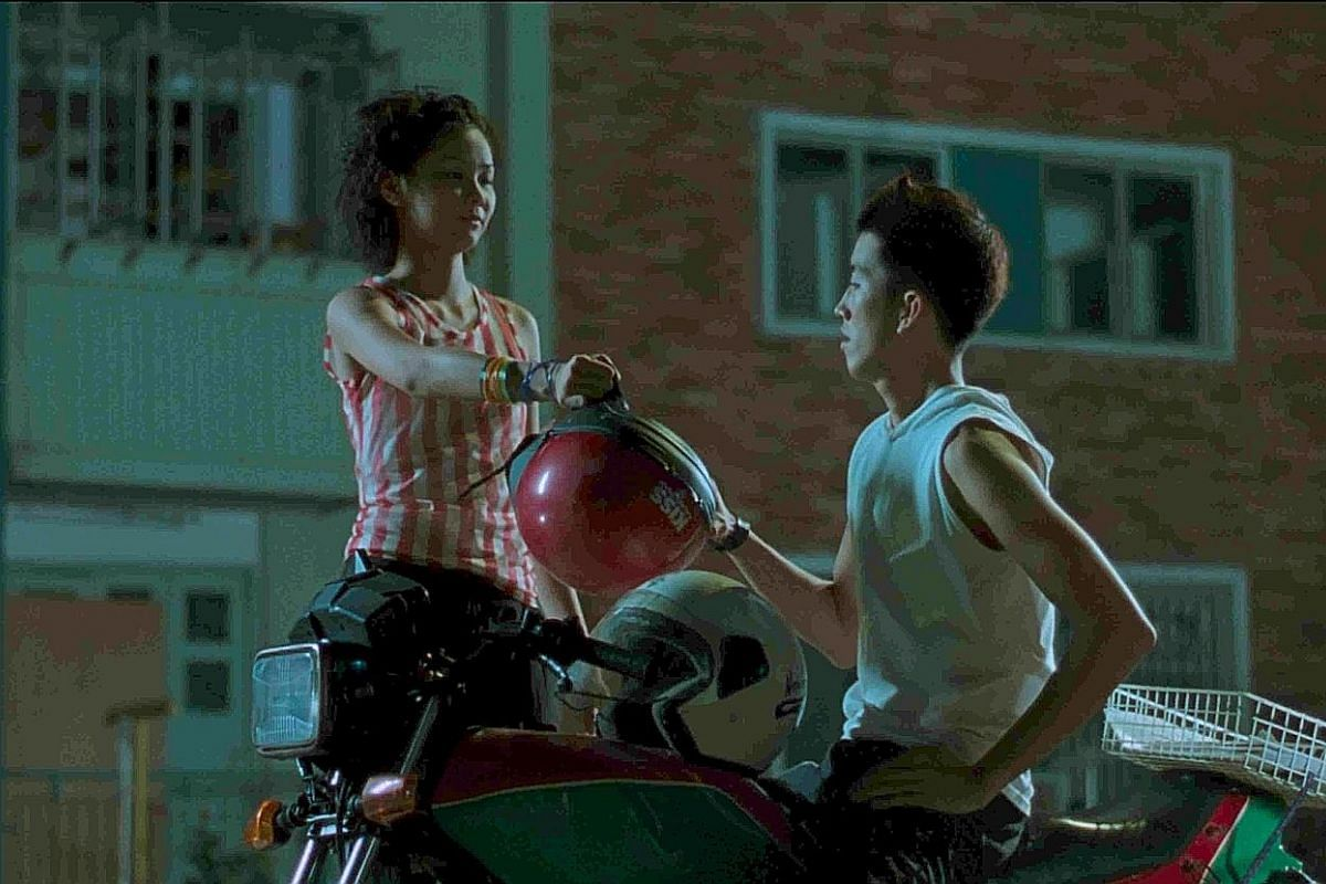 """Billed as a """"motorcycle gongfu love story"""", Eating Air (1999), starring Alvina Toh and Benjamin Heng, portrays life in HDB blocks in a stylised way. Documentary short film Into The Void features Izzat Asyraff Nahrawi, who practises leather crafting i"""
