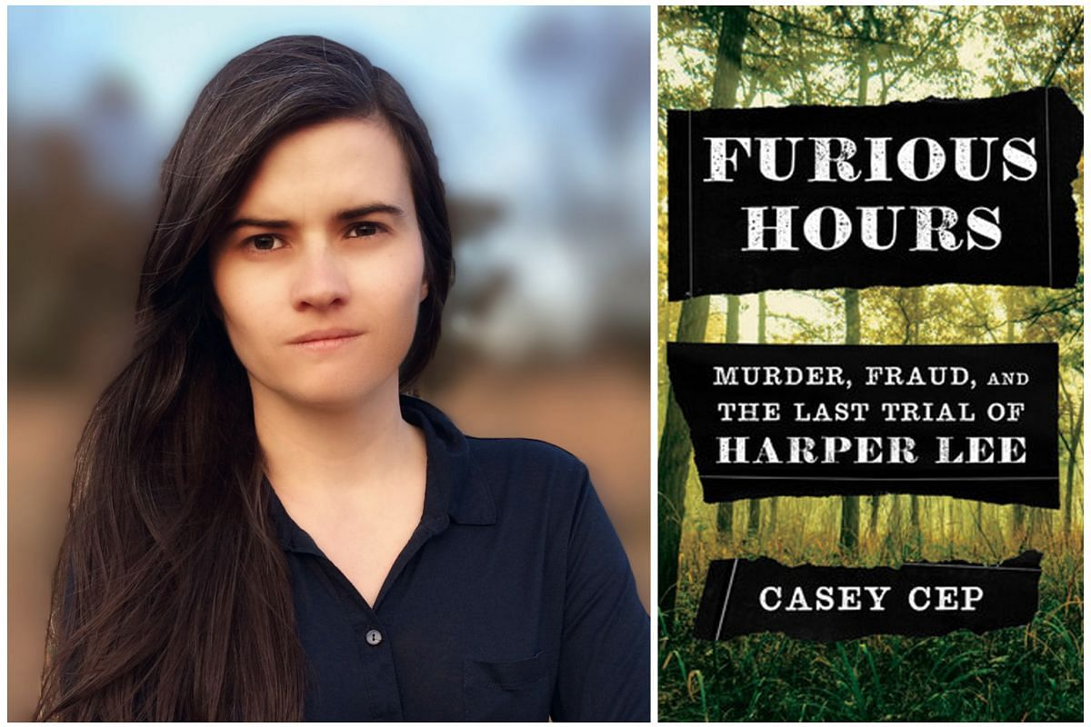Furious Hours, by American journalist Casey Cep (left), is a melange of true crime, legal thriller and literary biography.
