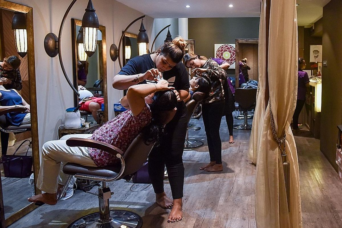 Little India eyebrow-threading parlours face manpower squeeze ...