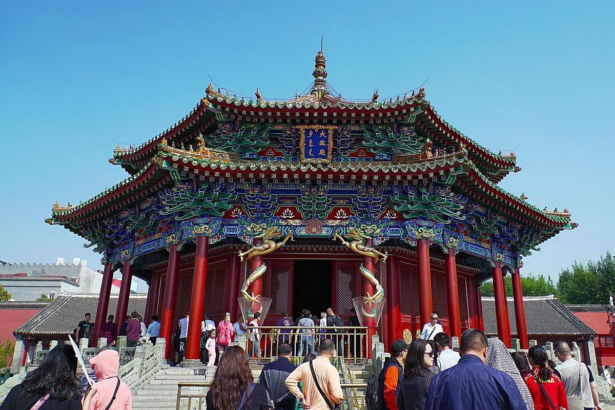 The Mukden Palace in Shenyang is the only remaining Manchu palace complex in the world.