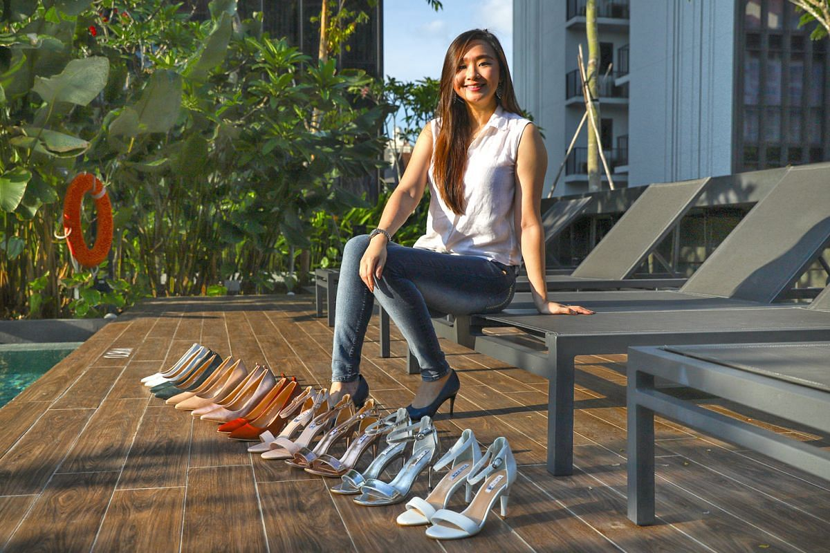 Making comfortable shoes for women is a dream come true for Cherre Hermogena.