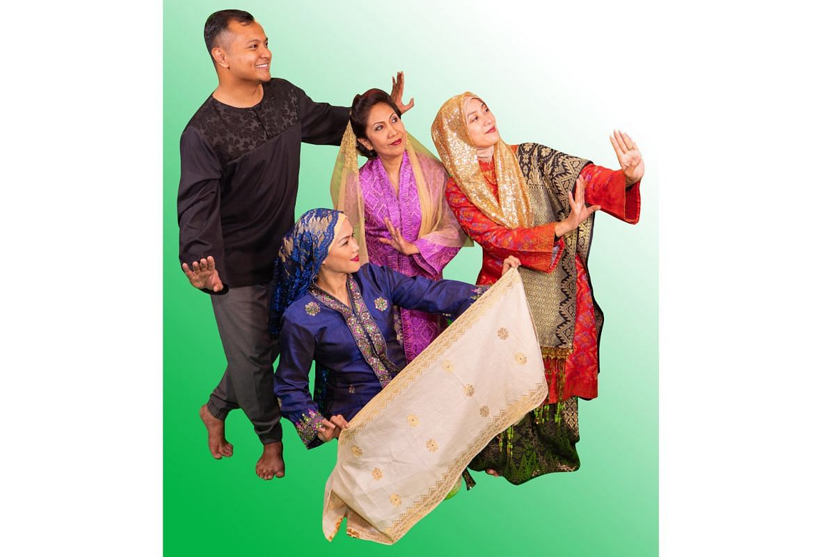 Mak-Mak Menari is a documentary theatre work by local group Bhumi Collective about the role of the modern Malay mother in Singapore.