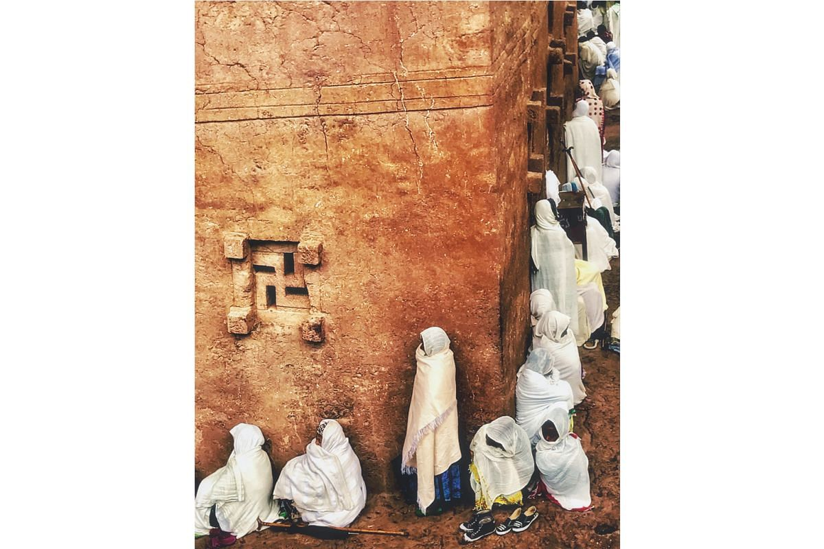 The ancient Lalibela in Ethiopia is an exotic destination covered by the Star Alliance network.