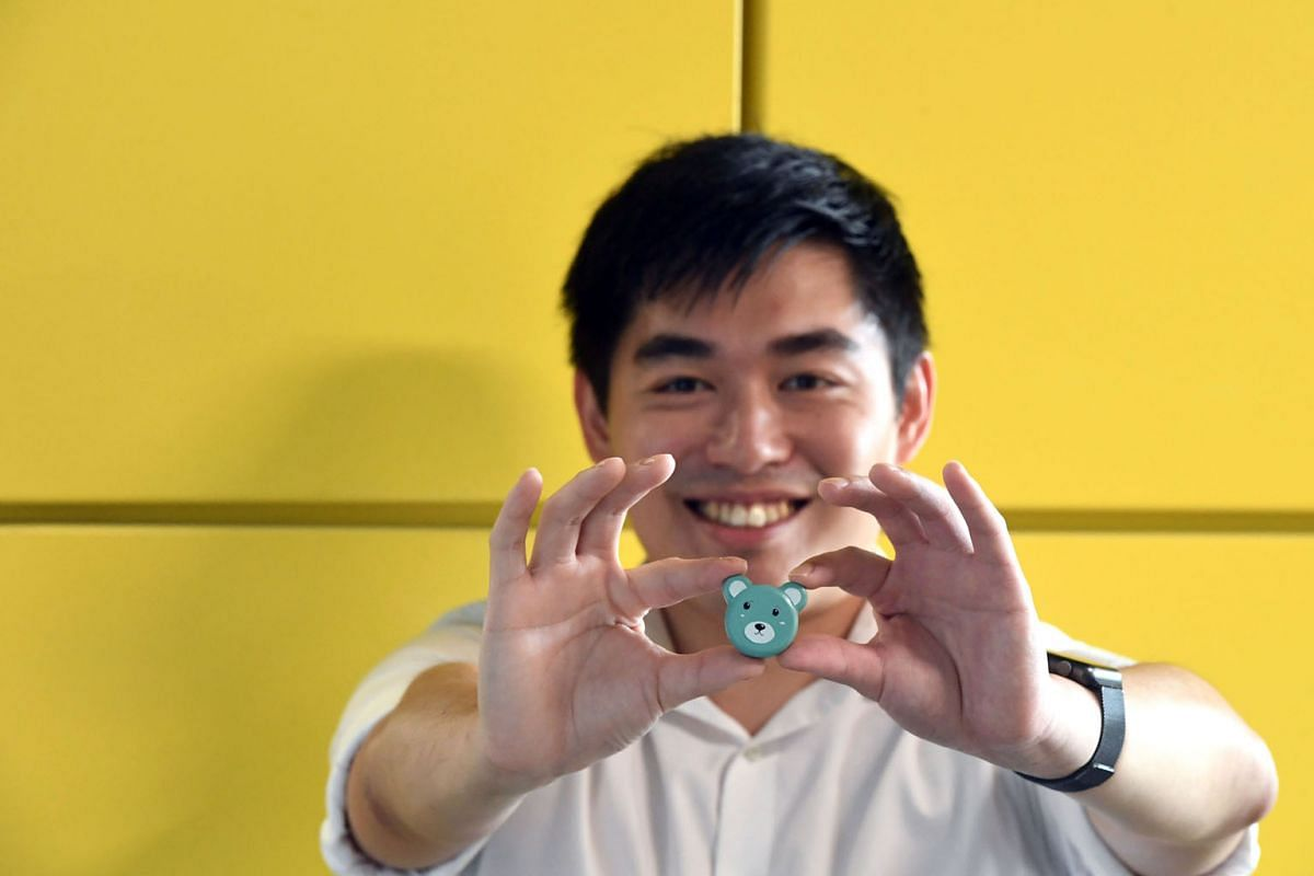 Biomedical technology start-up AEvice Health, founded by Mr Adrian Ang, has created a wearable asthma monitoring device.
