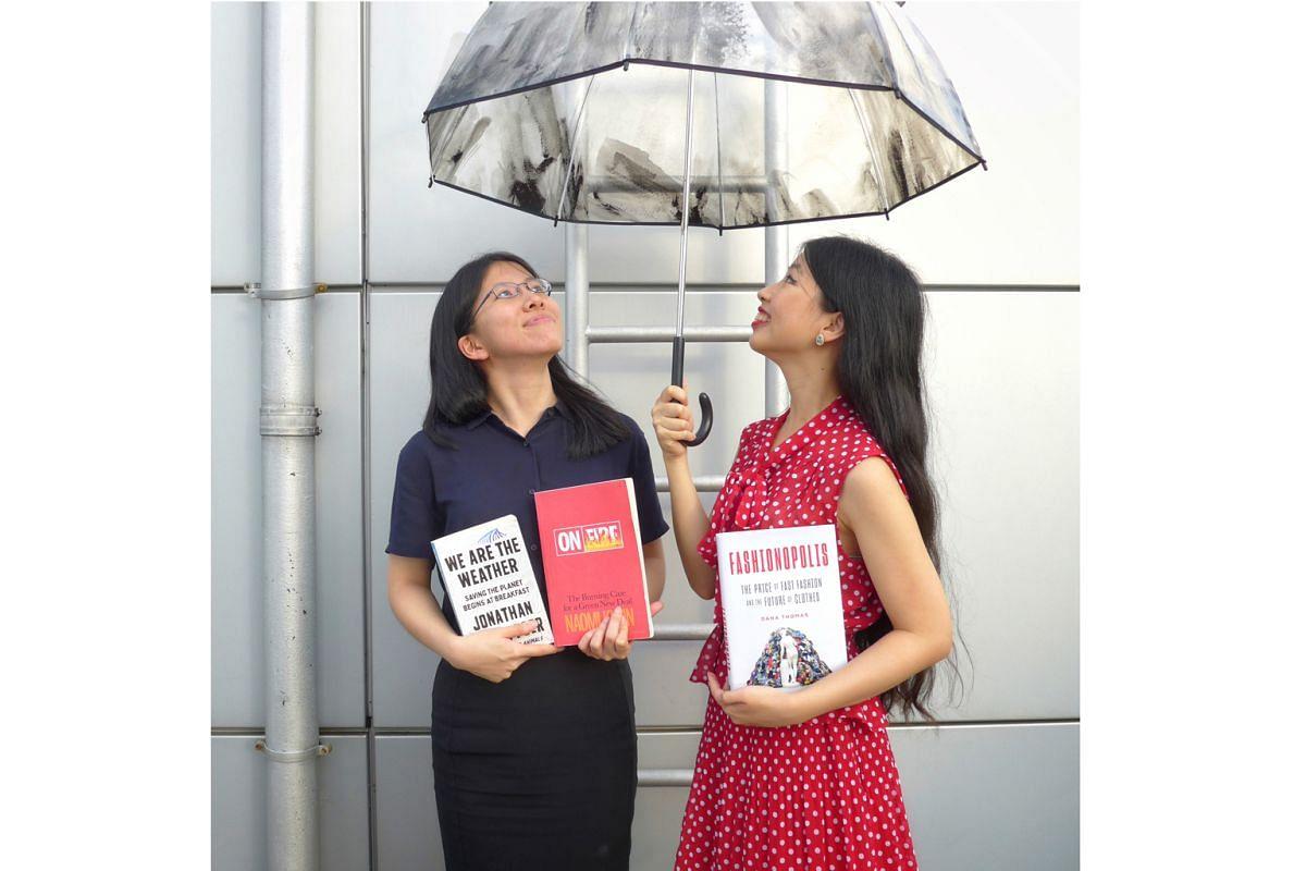 The Sunday Times writers Toh Wen Li and Olivia Ho