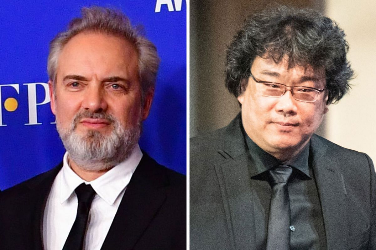 Actor Joaquin Phoenix (left) won the Best Actor in a Motion Picture - Drama accolade and actress Renee Zellweger (right) was feted with the Best Actress in a Motion Picture - Drama prize. British director Sam Mendes (top) was named Best Director whil